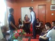 CWSN students meeting the DC of Kohima, 2017