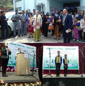 clips of performance and the Chief Guest for the 2nd Day of Umang Festival, Smti. Kavita Acharya.