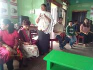 Mrs. Purnima welcoming the Resource persons