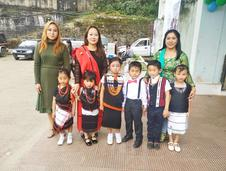 CBS parents & students i traditional attires during 'RAISE Your Hands for Inclusion' Campaign(OCT 29TH - OCT 30TH, 2018) - ZONAL MEET ON INCLUSIVE CHILDREN PARLIAMENT